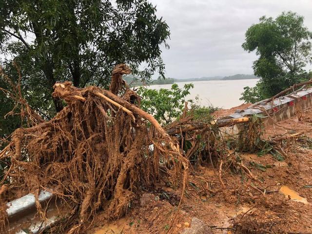 Kinh hãi hàng nghìn khối đất đổ ập xuống quốc lộ ở Nghệ An - Ảnh 5.