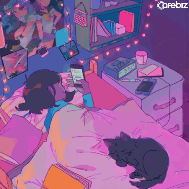 1h sáng, cô gái 20 tuổi thức đêm chơi điện thoại suýt mù mắt: Buông thả bản thân là cách nhanh nhất để hủy hoại cuộc sống của chính bạn - Ảnh 1.