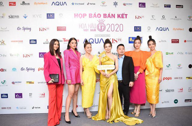 Họp báo Bán kết Hoa hậu Việt Nam 2020: Dàn mỹ nhân đọ sắc và công bố một điều hoàn toàn mới trong cách thức bình chọn năm nay - Ảnh 1.