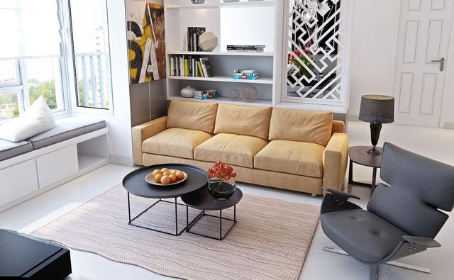 """Hút vượng khí vào nhà, gia chủ """"ăn nên làm ra"""" thì đừng bỏ qua những mẹo bài trí sofa này! - Ảnh 4."""