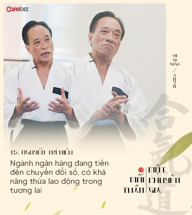 TS. Nguyễn Trí Hiếu: Aikido và thiền định giúp tôi bình tĩnh đối phó với nhiều hiểm nguy cuộc đời và giải quyết các xung đột kinh doanh trong ôn hoà - Ảnh 3.