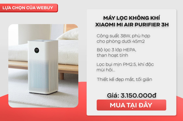 Muốn sống khỏe mỗi ngày trước tiên cần hít thở không khí sạch, và đây là những mẫu máy lọc không khí được ưa thích nhất trong từng khoảng giá - Ảnh 2.