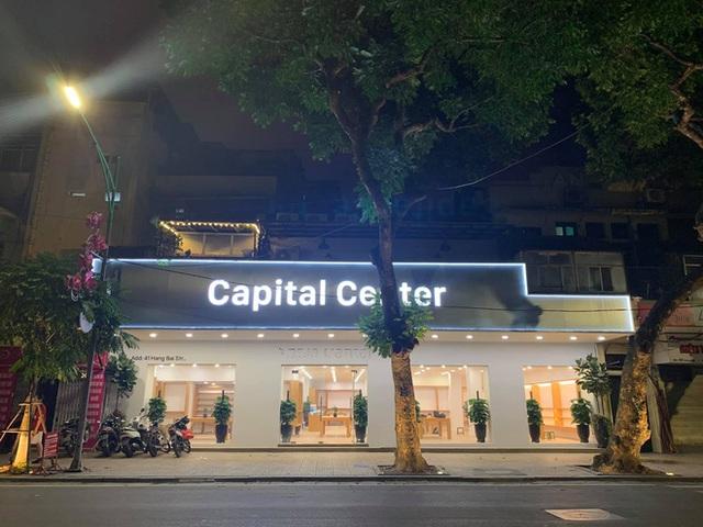 Apple Store nhái tại Hà Nội bị đổi tên thành Capital Center, logo táo khuyết bị gỡ - Ảnh 2.