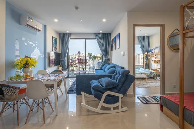 """Ngỡ ngàng căn hộ Vinhomes chỉ hơn 1 tỷ đồng, """"decor"""" 70 triệu thành homestay hút khách: Giá thuê cả triệu đồng/đêm! - Ảnh 1."""