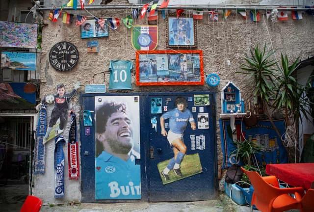 Đội bóng danh tiếng Italy đổi tên sân để tưởng nhớ Maradona - Ảnh 6.