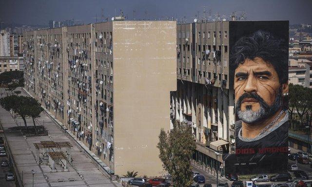 Đội bóng danh tiếng Italy đổi tên sân để tưởng nhớ Maradona - Ảnh 8.