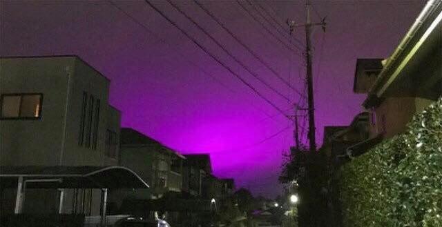 Nhật Bản: Bầu trời bỗng chuyển màu tím như phim kinh dị khiến nhiều người hoang mang, nhưng khi biết nguyên nhân ai nấy đều ngã ngửa - Ảnh 3.