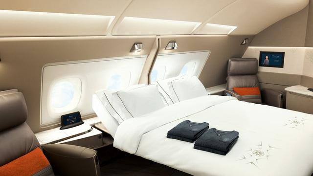 Khoang hạng nhất của Singapore Airlines, Emirates xa xỉ cỡ nào?  - Ảnh 1.