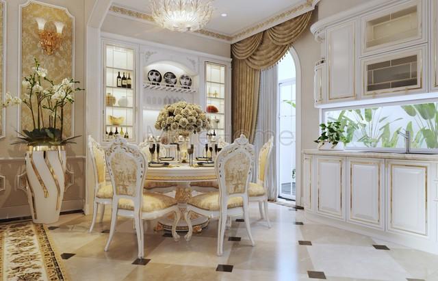 Muốn gia đình luôn bình an, hạnh phúc nên lưu ý những mẹo chọn bàn ăn này trong nhà bếp - Ảnh 4.