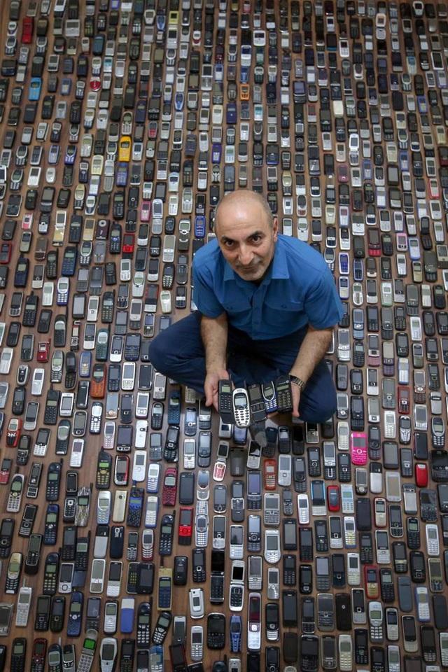 Choáng ngợp với bộ sưu tập điện thoại di động trong 20 năm của người đàn ông Thổ Nhĩ Kỳ - Ảnh 7.