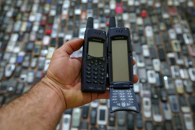 Choáng ngợp với bộ sưu tập điện thoại di động trong 20 năm của người đàn ông Thổ Nhĩ Kỳ - Ảnh 9.