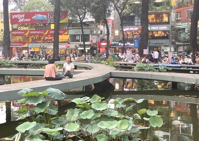 Hồ Con Rùa sắp trở thành phố đi bộ ở TPHCM - Ảnh 2.
