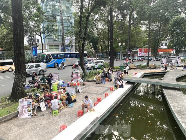 Hồ Con Rùa sắp trở thành phố đi bộ ở TPHCM - Ảnh 14.
