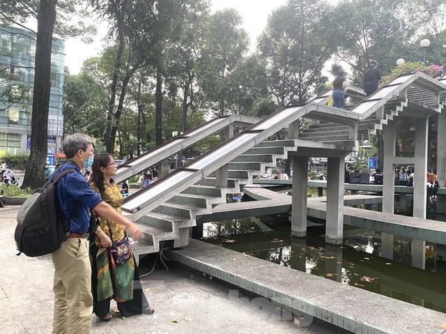 Hồ Con Rùa sắp trở thành phố đi bộ ở TPHCM - Ảnh 7.