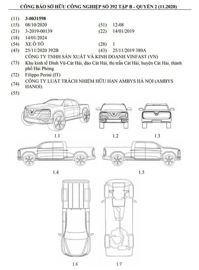 VinFast sắp chế tạo xe bán tải? - Ảnh 1.