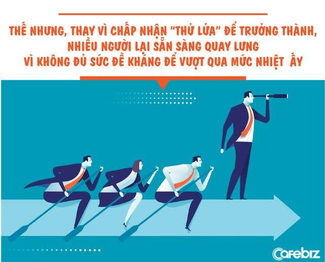 Sếp giỏi thường vô tâm, vô tình, nhân viên tồi không chịu được nhiệt sẽ tự OUT  - Ảnh 1.