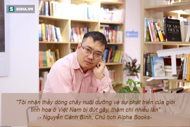 Chủ tịch Alpha Books: Người chưa từng thất bại là người đặt mục tiêu quá thấp, quá thiếu ước mơ - Ảnh 2.