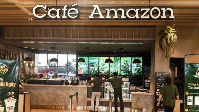 cà phê amazon