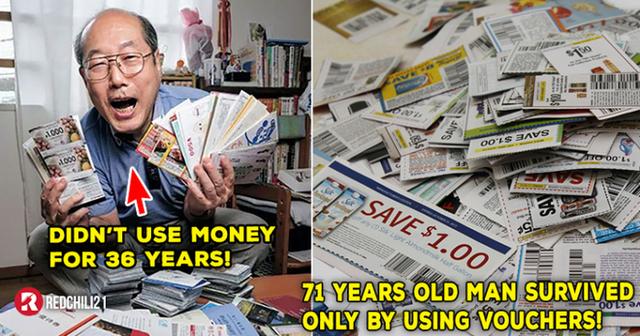 Người đàn ông Nhật sống thoải mái ở Tokyo dù không tiêu một xu, chỉ sống bằng phiếu mua hàng suốt 36 năm  - Ảnh 1.