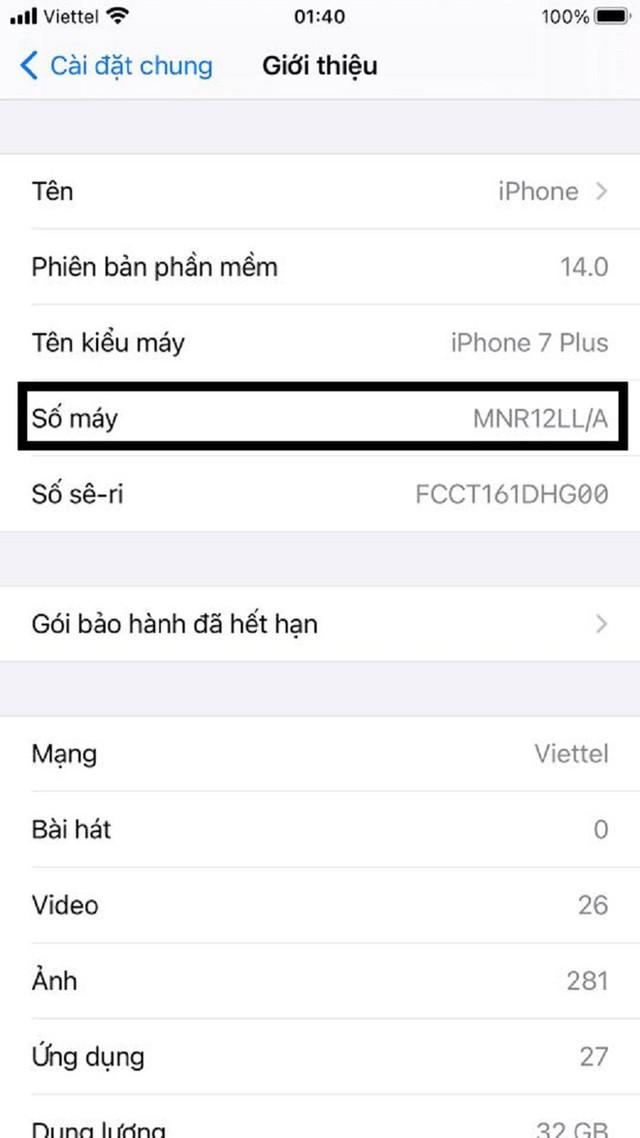 Hướng dẫn phân biệt iPhone chính hãng với iPhone xách tay - Ảnh 3.