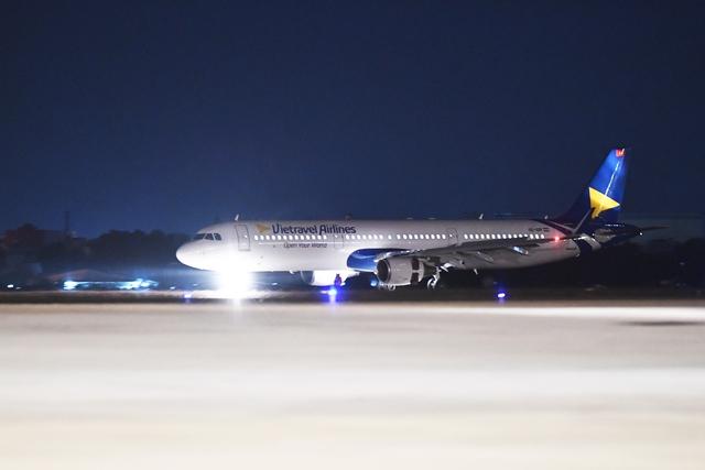 Vietravel Airlines đón chiếc tàu bay đầu tiên - Ảnh 1.