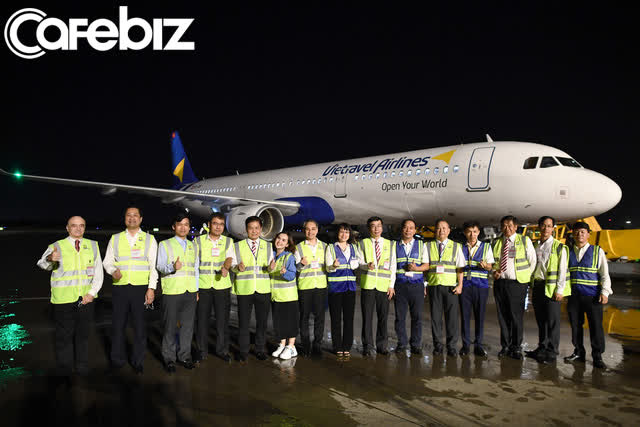 Vietravel Airlines đón chiếc tàu bay đầu tiên - Ảnh 5.