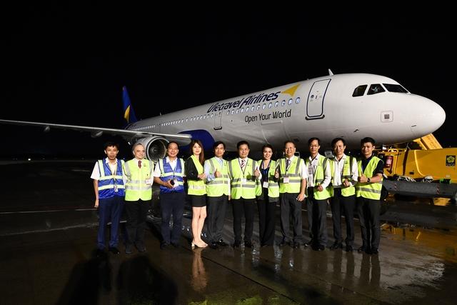Vietravel Airlines đón chiếc tàu bay đầu tiên - Ảnh 6.