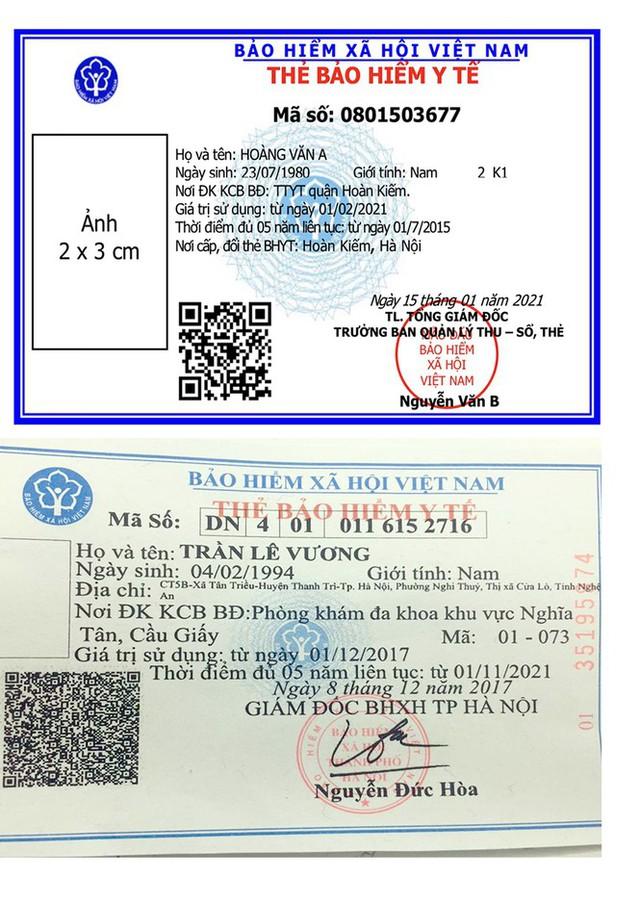 BHXH Việt Nam thay mẫu thẻ BHYT mới từ 1/4 năm sau - Ảnh 2.