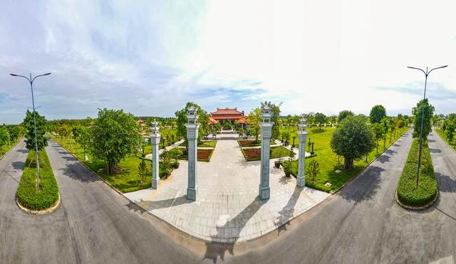 Cận cảnh hoa viên nghĩa trang hơn 2.000 tỷ đồng, có cảnh quan đẹp bậc nhất Việt Nam - Ảnh 6.
