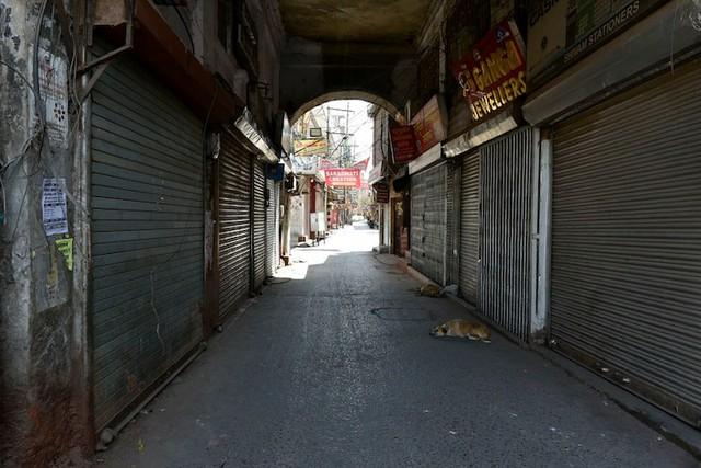 Cảnh sát Ấn Độ thẳng tay trừng phạt người vi phạm lệnh phong tỏa vì Covid-19: Từ quất gậy đến bắt chống đẩy giữa phố để răn đe - Ảnh 1.