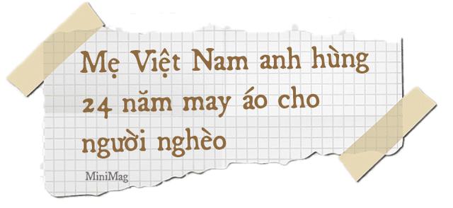 Mẹ Việt Nam Anh hùng 97 tuổi may khẩu trang tặng người nghèo phòng dịch Covid-19 - Ảnh 6.