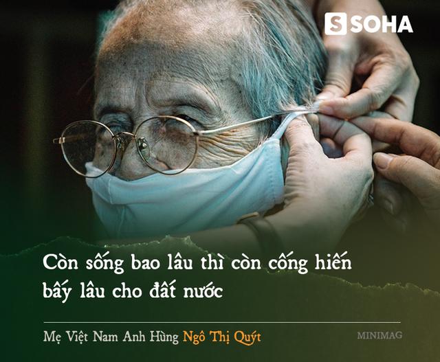Mẹ Việt Nam Anh hùng 97 tuổi may khẩu trang tặng người nghèo phòng dịch Covid-19 - Ảnh 10.
