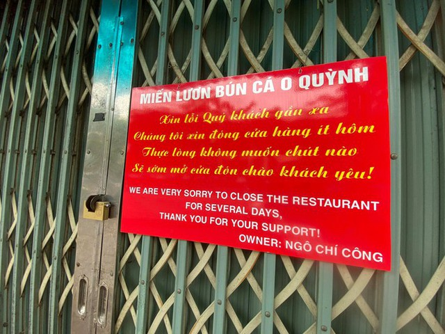 Ngày đầu Hà Nội thực hiện lệnh đóng cửa hàng quán - Ảnh 1.