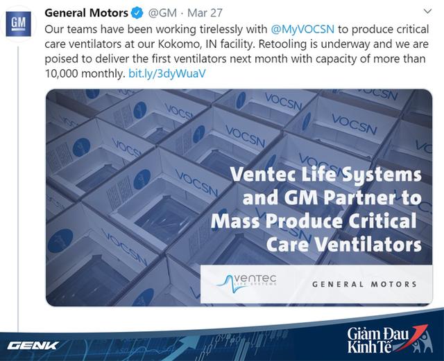 Áp dụng Đạo luật thời chiến, tổng thống Trump thúc giục các nhà sản xuất ô tô tham gia sản xuất trang thiết bị y tế - Ảnh 1.