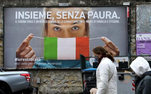 """Thực tế """"đắng ngắt"""" ở Italy - Quốc gia đang mong manh trước dịch Covid-19 - Ảnh 2."""
