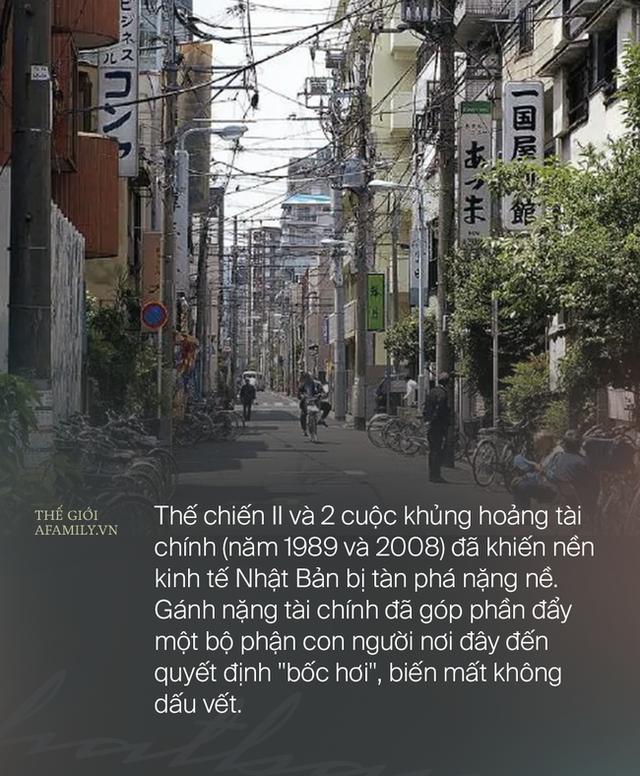 Đằng sau sự biến mất của hàng trăm nghìn người Nhật mỗi năm khi bị dồn đến đường cùng, gia đình cũng phải bỏ lại sau lưng - Ảnh 4.
