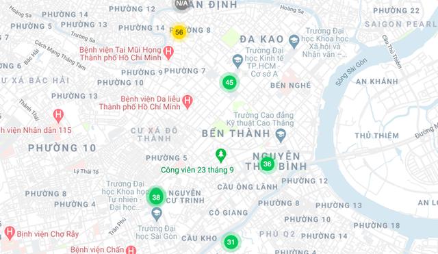 Chỉ 1 ngày sau cách ly xã hội: Chất lượng không khí đã cải thiện bất ngờ, trung tâm các thành phố lớn đã đạt ngưỡng xanh ngát hiếm có - Ảnh 3.