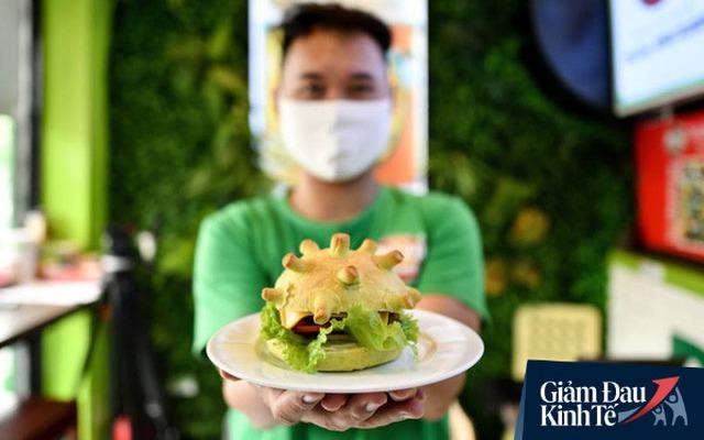 Burger Corona của chuỗi cửa hàng pizza tại Hà Nội: Một mũi tên trúng 2 đích, vừa duy trì doanh số giữa mùa dịch, vừa PR thương hiệu miễn phí khắp 5 châu   - Ảnh 3.