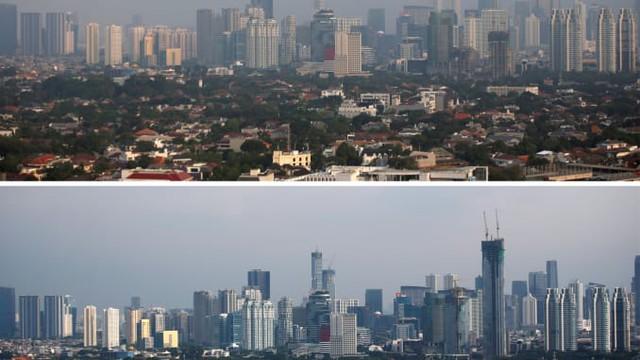 Chùm ảnh: Hạn chế ra đường, phong tỏa toàn thành phố, đại dịch Covid đang giúp môi trường trường giảm ô nhiễm và trong lành hơn - Ảnh 4.