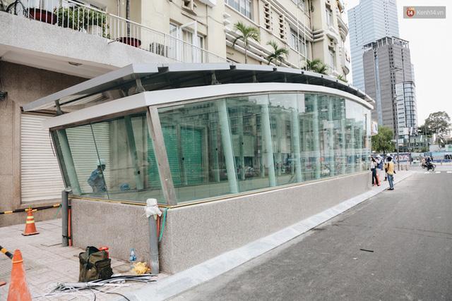 """Ga ngầm Metro đầu tiên được hoàn thành ở Sài Gòn: Ngỡ như """"thiên đường"""" dưới lòng đất, thiết kế theo kiến trúc của Nhà hát Thành phố - Ảnh 4."""