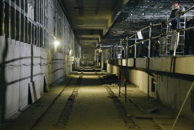 """Ga ngầm Metro đầu tiên được hoàn thành ở Sài Gòn: Ngỡ như """"thiên đường"""" dưới lòng đất, thiết kế theo kiến trúc của Nhà hát Thành phố - Ảnh 23."""