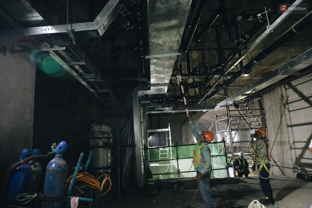"""Ga ngầm Metro đầu tiên được hoàn thành ở Sài Gòn: Ngỡ như """"thiên đường"""" dưới lòng đất, thiết kế theo kiến trúc của Nhà hát Thành phố - Ảnh 24."""
