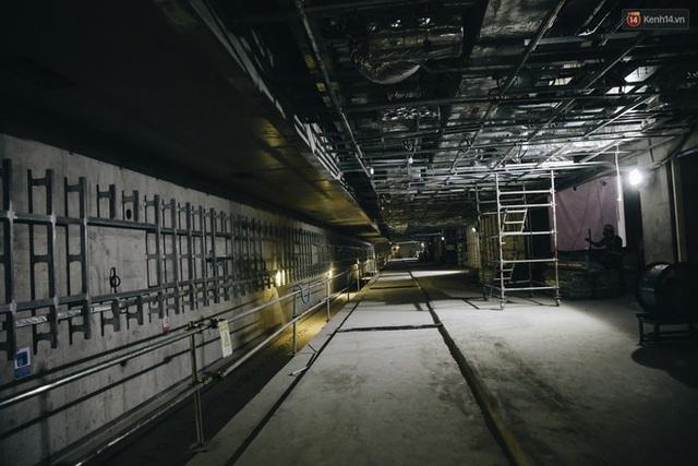 """Ga ngầm Metro đầu tiên được hoàn thành ở Sài Gòn: Ngỡ như """"thiên đường"""" dưới lòng đất, thiết kế theo kiến trúc của Nhà hát Thành phố - Ảnh 25."""