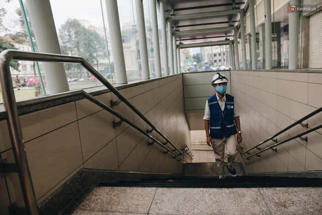 """Ga ngầm Metro đầu tiên được hoàn thành ở Sài Gòn: Ngỡ như """"thiên đường"""" dưới lòng đất, thiết kế theo kiến trúc của Nhà hát Thành phố - Ảnh 5."""