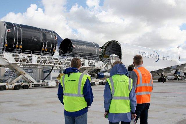Boeing quyên góp 3 chiếc máy bay chở hàng ngoại cỡ để giúp phân phối hàng hóa liên quan virus corona - Ảnh 11.