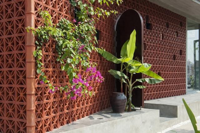 Ngôi nhà ở Nam Định lấy cảm hứng từ cây chuối - Ảnh 3.
