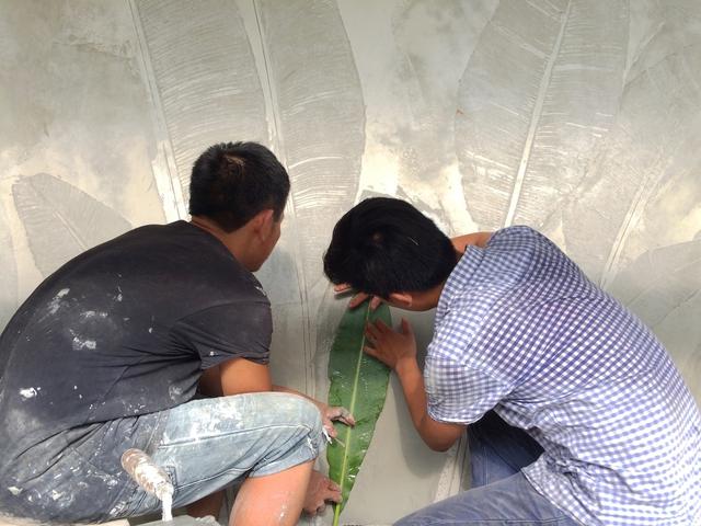 Ngôi nhà ở Nam Định lấy cảm hứng từ cây chuối - Ảnh 12.