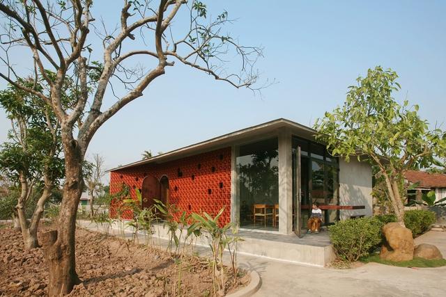 Ngôi nhà ở Nam Định lấy cảm hứng từ cây chuối - Ảnh 17.