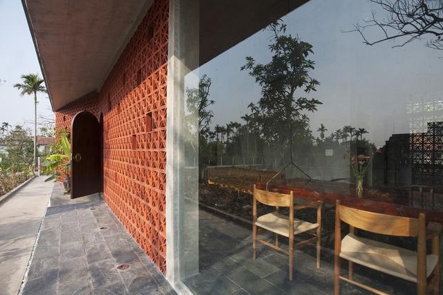 Ngôi nhà ở Nam Định lấy cảm hứng từ cây chuối - Ảnh 4.