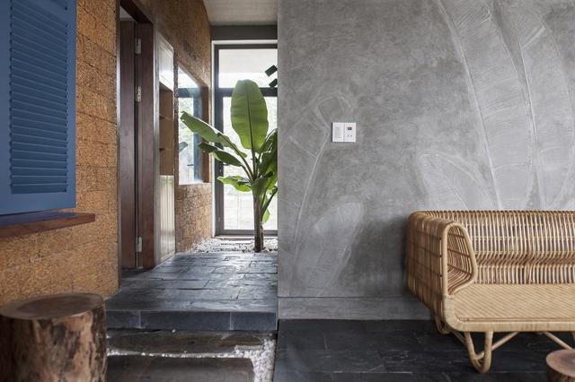 Ngôi nhà ở Nam Định lấy cảm hứng từ cây chuối - Ảnh 5.